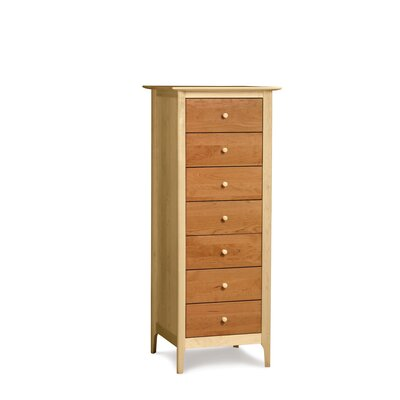 In store financing Sarah 7 Drawer Chest Finish: Maple ...
