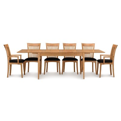 Sarah Extendable Dining Table Finish: Smoke Cherry