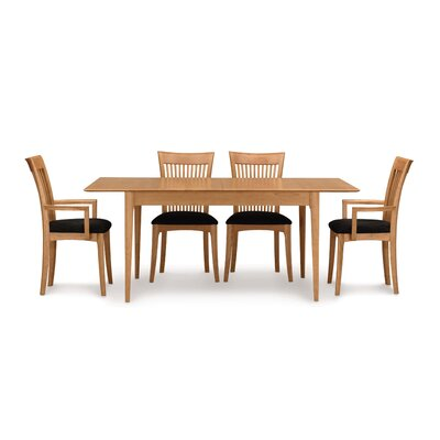 Sarah Extendable Dining Set Finish: Natural Cherry