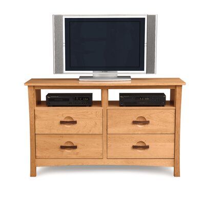Berkeley 4 Drawer Media Chest Color: Cognac Cherry