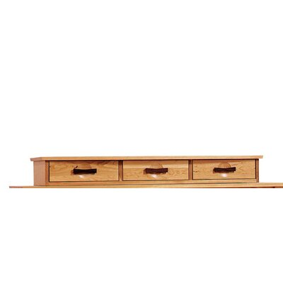 Berkeley 49.5 W x 16 D Desk Drawer Finish: Cognac Cherry