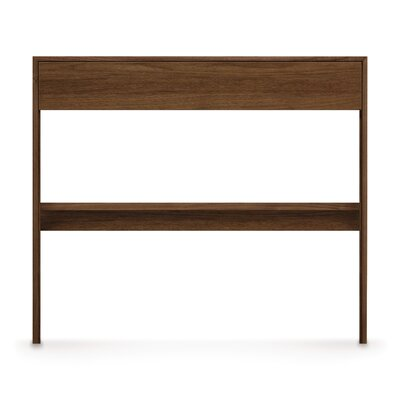 Moduluxe Writing Desk Finish: Natural Walnut, Top Coat Finish: Conventional Product Picture 527