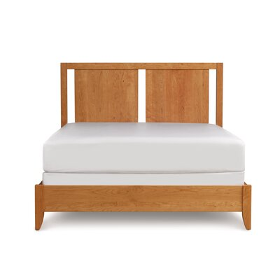 Dominion Panel Bed Size: King, Finish: Cognac Cherry