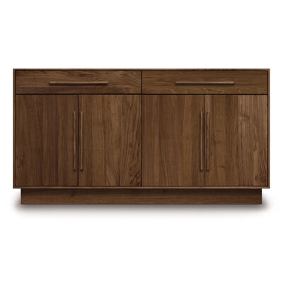 Moduluxe 2 Drawer Dresser Color: Dark Chocolate Maple