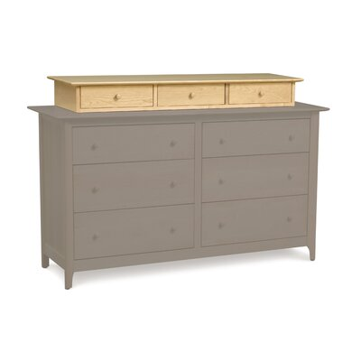 Sarah 9 Drawer Double Dresser Color: Natural Maple
