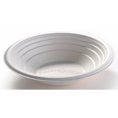 Nutrition and Portion Control 2 Cup 100% Compostable Eco Bowl PP16CB-25
