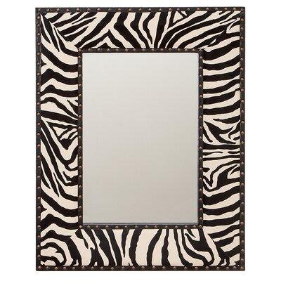 """Zebra Wall Mirror Size: 31"""" H"""