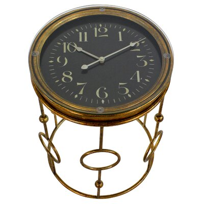 Nanette Clock End Table