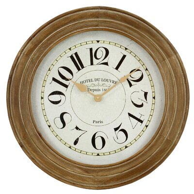 23.5 Hayes Wooden Wall Clock
