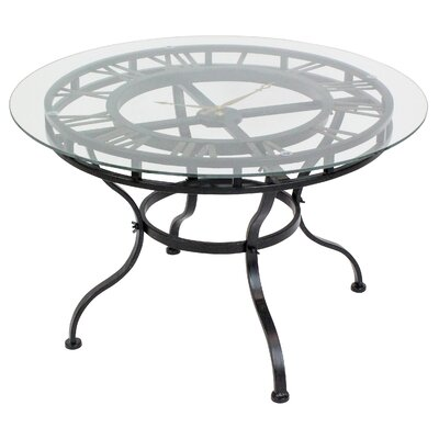 Redding Coffee Table with Clock