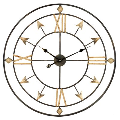 "Oversized Arrow 30"" Wall Clock UNRS1637 38870647"