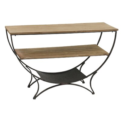 Thompson Dual Shelf Console Table