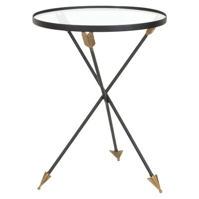 Amari Arrow Metal End Table