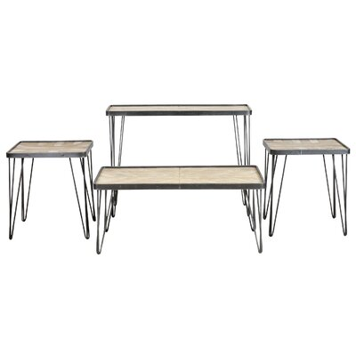 Drumright 3 Piece Coffee Table Set