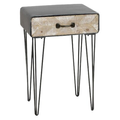Drumright End Table with Drawer