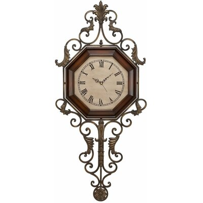 39 Wrought Iron Wall Clock