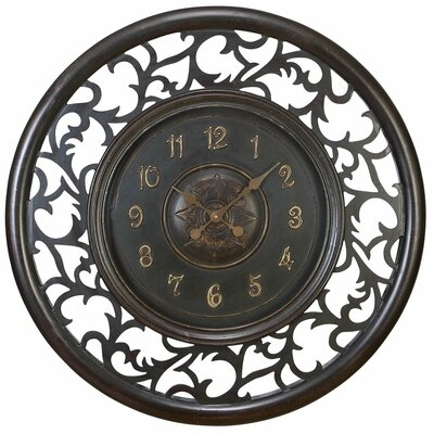"36"" Medieval Wall Clock"