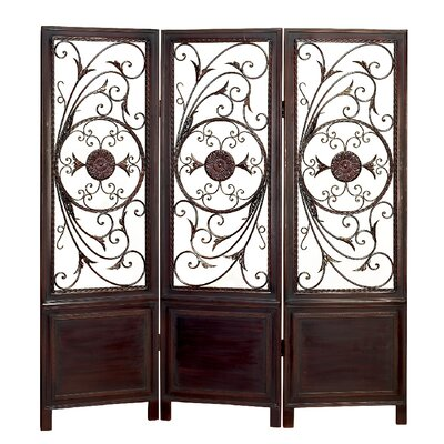 Buy low price aspire room divider with elegant metal designs room divider mart - Stylish room divider ...
