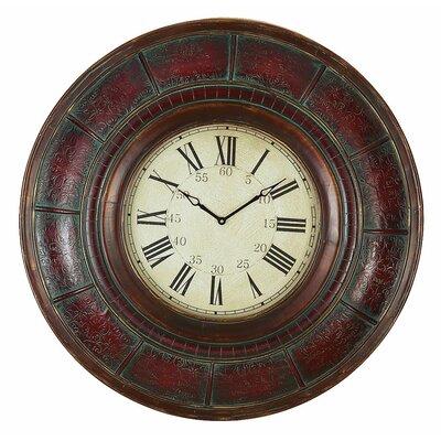 "Oversized 36"" Brick Wall Clock 89224"