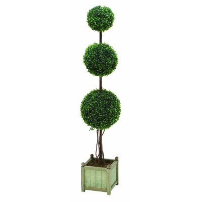 Trueshire Potted Artificial Topiary In Planter