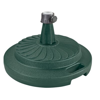 Commerical Quality Free Standing Umbrella Base Color: Green