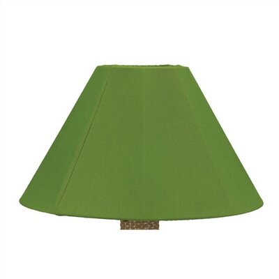 20 Sunbrella Empire Lamp Shade Shade: Burgundy Canvas