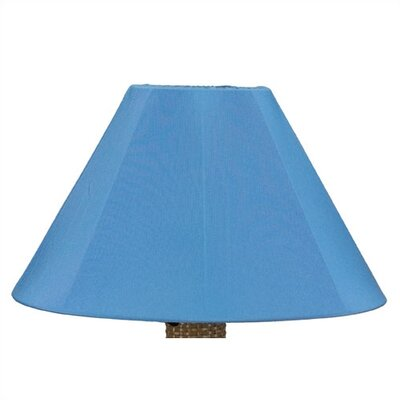 25 Sunbrella Empire Lamp Shade Shade: Sky Blue