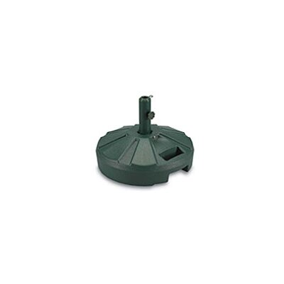 Resin Free-Standing Umbrella Base with Stand Color: Green