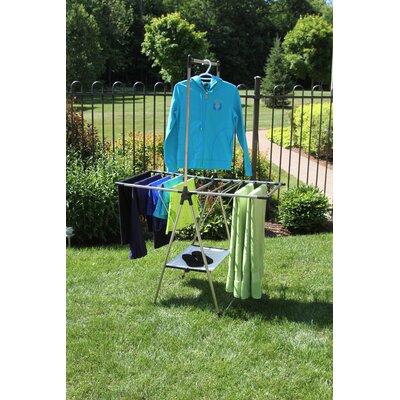 Greenway Indoor/Outdoor Compact Drying Rack GFR1211SS