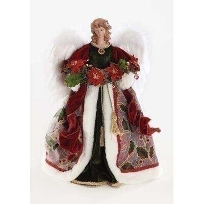 Roman, Inc. Angel Wine Tree Topper Figurine at Sears.com