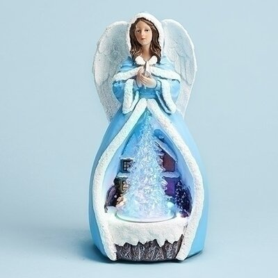 Musical LED Angel Figurine 30311
