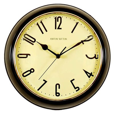 Retrospective Wall Clock Color: Black