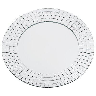 Crystals Glass Mosaic Wall Mirror