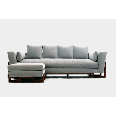 Sofa Upholstery: Fog Aged Velvet