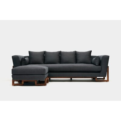 Sofa Upholstery: Taupe Aged Velvet