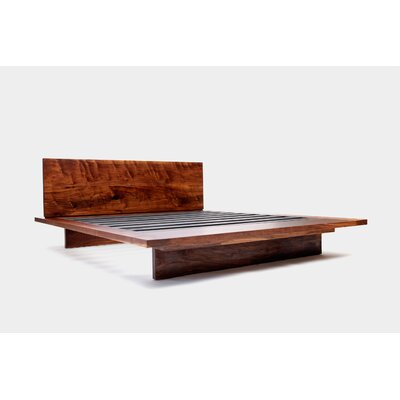 SQ Platform Bed Size: King