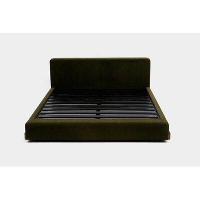 UP Upholstered Platform Bed Size: California King, Upholstery: Forest