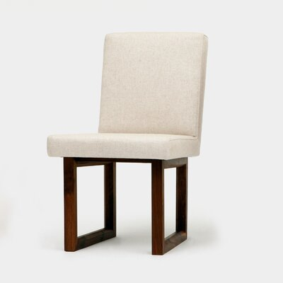 C2 Side Chair Upholstery: Creme