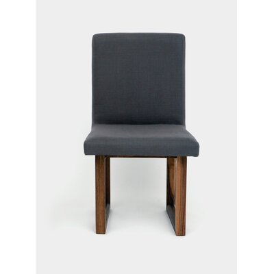 C2 Upholstered Dining Chair Upholstery: Smoke