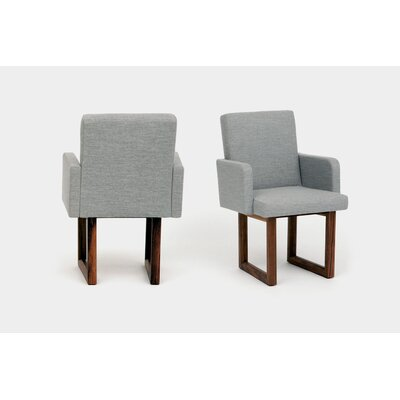 C2W Upholstered Dining Chair Upholstery: Ash