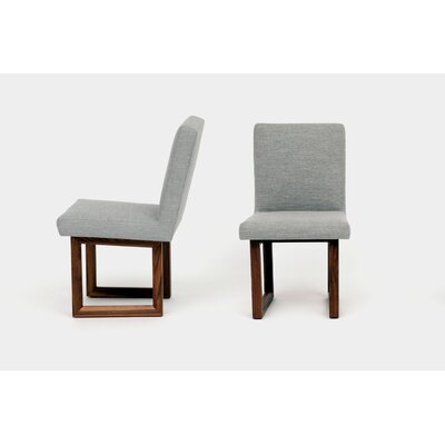 C2 Upholstered Dining Chair Upholstery: Ash