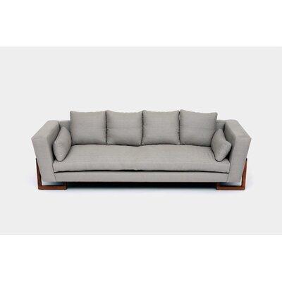 Sofa Upholstery: Metal Natural