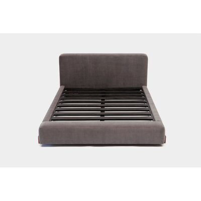UP Upholstered Platform Bed Size: Queen, Upholstery: Flannel