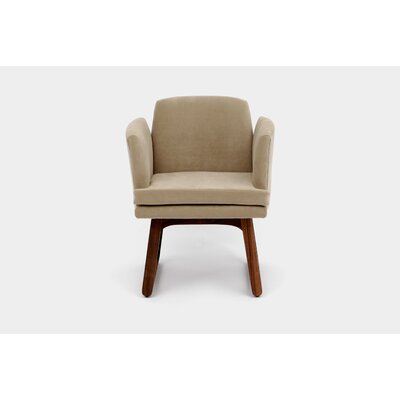 Allison Sled Base Arm Chair Upholstery Color: Taupe