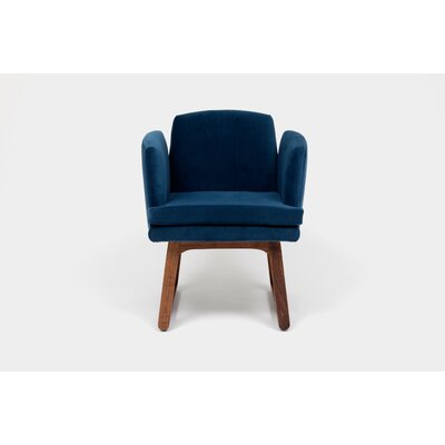 Allison Sled Base Upholstered Dining Chair Upholstery Color: Admiral