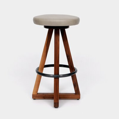 X3 30 Swivel Bar Stool Color: Cashmere