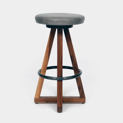 X3 30 Swivel Bar Stool Color: Smoke