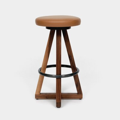 X3 30 Swivel Bar Stool Color: Earth