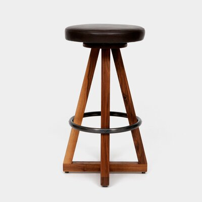 X3 30 Swivel Bar Stool Color: Blackbean