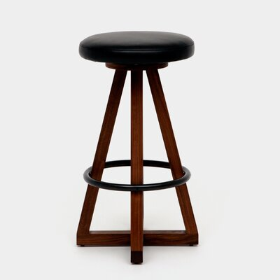X3 30 Swivel Bar Stool Color: Night